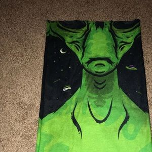 iHeartRaves Alien mask bandana